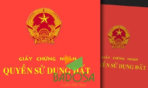 Tách sổ đỏ, Chuyển nhượng quyền sử dụng đất, Công ty Badosa, Tách thửa đất, Cấp giấy chứng nhận quyền sử dụng đất