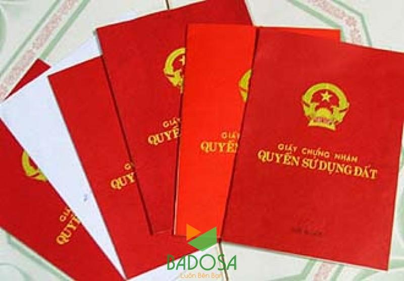 Sổ đỏ giả, Làm sổ đỏ giả, Giấy chứng nhận quyền sử dụng đất đai, Sổ đỏ, Đất phi nông nghiệp