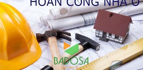 Hoàn công xây dựng, Luật xây dựng 2014, Hoàn công nhà ở, Thủ tục pháp lý, Giấy phép xây dựng