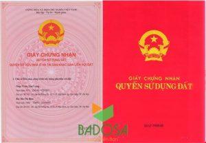 Hồ sơ xin cấp sổ đỏ, Tư vấn pháp lý Badosa, Sổ đỏ, Thủ tục làm sổ đỏ, Badosa