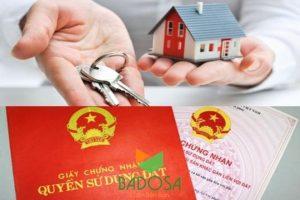 Thủ tục sang tên sổ đỏ, Công ty Badosa, Sổ đỏ, Tư vấn pháp lý Badosa, Thủ tục xin sang tên sổ đỏ