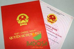 Tách sổ đỏ, Badosa, Thủ tục pháp lý, Tách thửa, Giấy chứng nhận quyền sử dụng đất