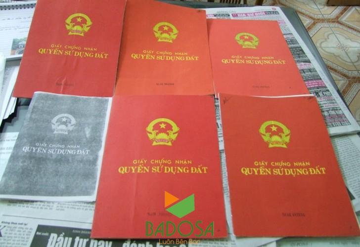 Thủ tục chia đất, Tư vấn pháp lý Badosa, Thủ tục pháp lý, Giấy chứng nhận quyền sử dụng đất